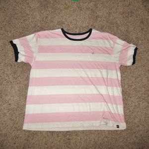 Hurley Striped Flamingo Tee T-Shirt XL